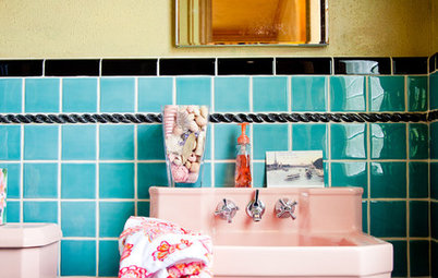 Stuck in a Blah Rental Bathroom? Just Spruce it Up!