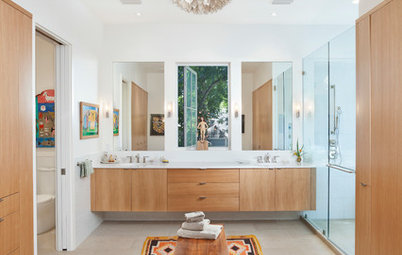7 Ways to Dress Up Your Bathroom Floor With a Mat or Rug