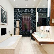 Contemporary Bathroom by Eileen Johnston Interiors