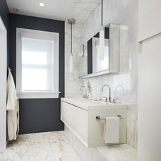 Modern Bathroom by Mia Rao Design