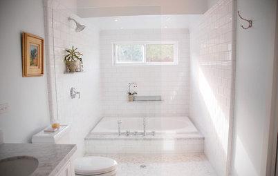 Badeværelse: Derfor skal du placere badekarret i brusekabinen
