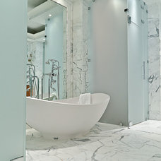 modern bathroom by IBB Design Fine Furnishings