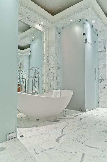 Contemporary Bathroom by IBB Design Fine Furnishings