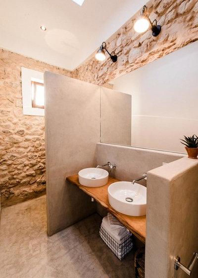 Mediterráneo Cuarto de baño by Ibiza Interiors   architect & interior designer