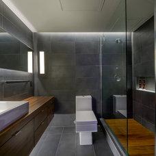 Contemporary Bathroom by 186 Lighting Design Group - Gregg Mackell