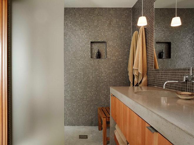 Modern Bathroom by Stone Interiors
