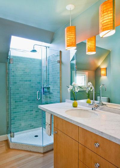 Contemporary Bathroom by Arkin Tilt Architects