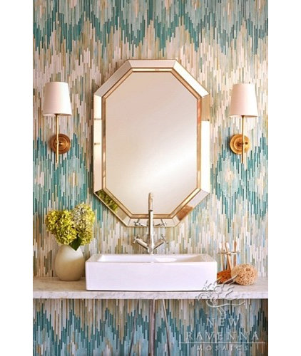 eclectic bathroom by Filmore Clark
