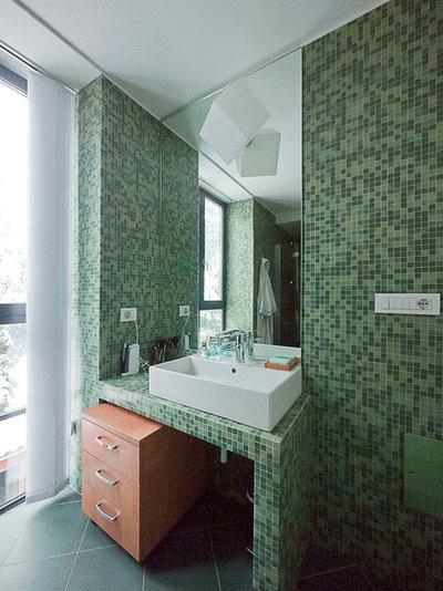 Guida houzz per bagni pratici e raffinatissimi scegli le piastrelle giuste - Alternativa piastrelle bagno ...