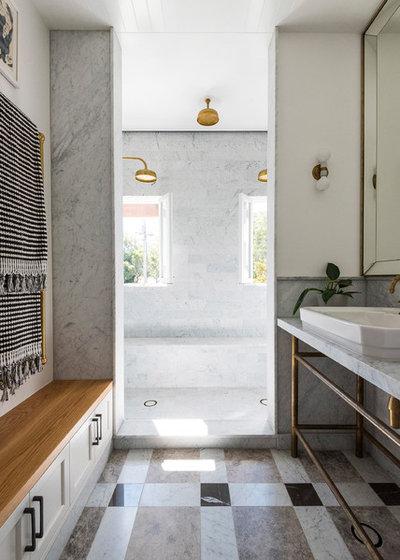 Contemporary Bathroom by Lovett Custom Homes