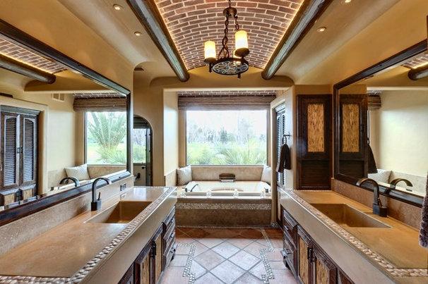 Mediterranean Bathroom by Professional Design Consultants