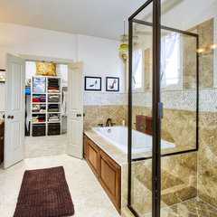 contemporary bathroom by Imaging Austin