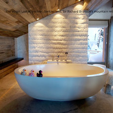 Eclectic Bathroom by Tyrrell and Laing International, Inc.