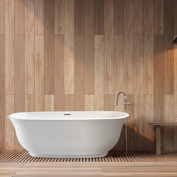 "Imperial 59"" Freestanding Bathtub Ideabook"