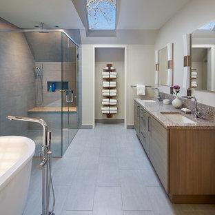 Design ideas for a contemporary bathroom in DC Metro.