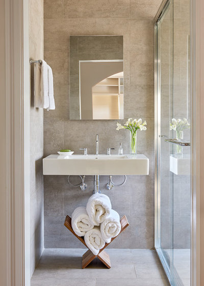 Contemporary Bathroom by CARNEMARK design + build