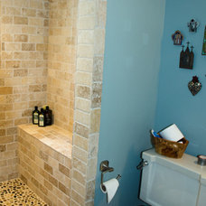 Traditional Bathroom by Riley Art and Interiors