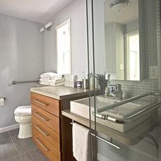 Contemporary Bathroom by Braitman Design Studio