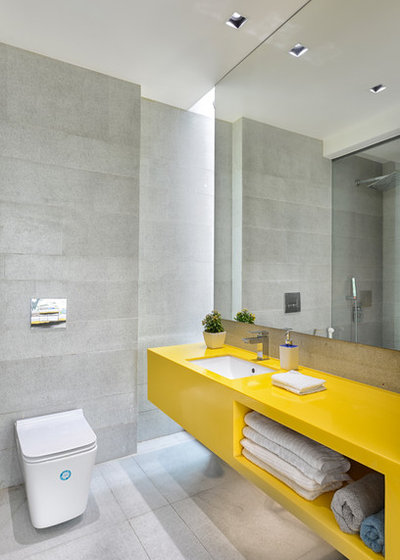 Contemporary Bathroom by S A K Designs