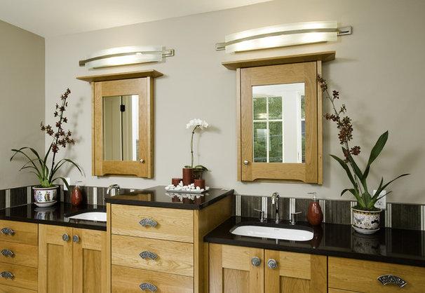Eclectic Bathroom by Christian Gladu Design