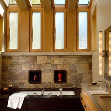 Contemporary Bathroom by Charles Cunniffe Architects Aspen