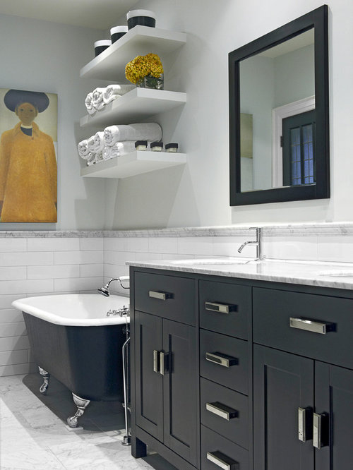Modern Clawfoot Tub Design Ideas Remodel Pictures Houzz
