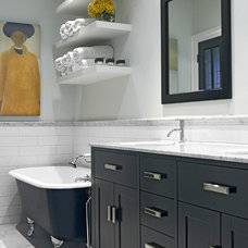 Eclectic Bathroom by Palmerston Design Consultants