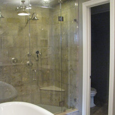 Traditional Bathroom by XACT Construction, LLC