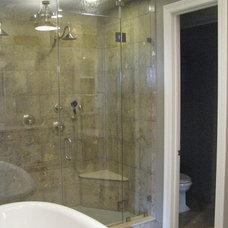 Traditional Bathroom by XACT Construction, LLC