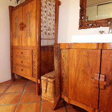 Eclectic Bathroom by Shelley Gardea