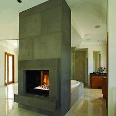 Contemporary Bathroom by Belden Brick and Supply