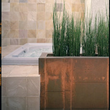 Contemporary Bathroom by Leslie Harris / Interior Design