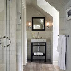 Contemporary Bathroom by Cathleen Gouveia Design
