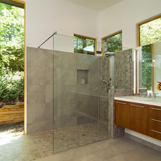 Contemporary Bathroom by Anthony Wilder Design/Build, Inc.