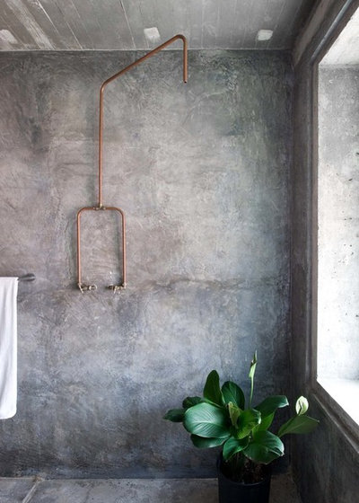 Industriale Stanza da Bagno Industrial Bathroom