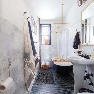 Industrial Brooklyn Bathroom Reno