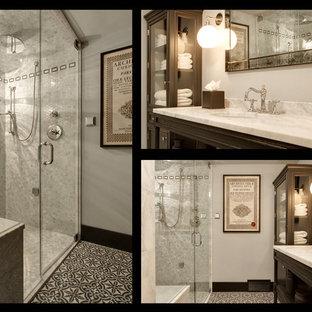 Industrial Chic Bathroom/Steam Shower
