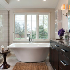 Transitional Bathroom by Savvy Interior Design