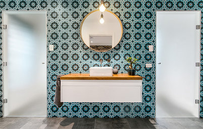 30 Stunning Tile Treatments