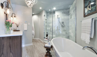 Industrial Feminine Loft Bathroom Renovation