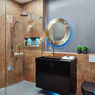 Industrial Glamour Shower Room