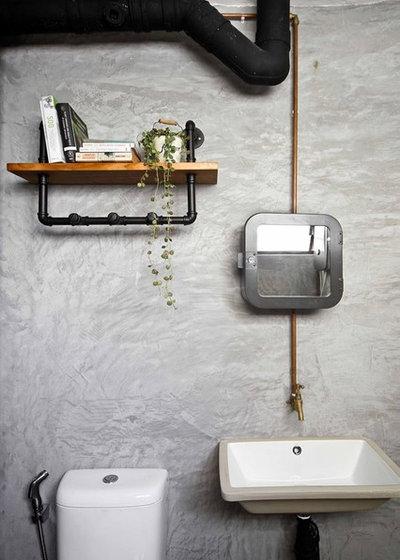 Industrial Bathroom by Hue Concept