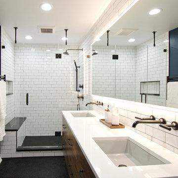 Industrial Mod   Bath Remodel