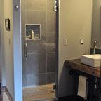 20 Trenton Master Bath Remodel - Industrial - Bathroom ...