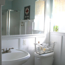 Eclectic Bathroom by The Virginia House