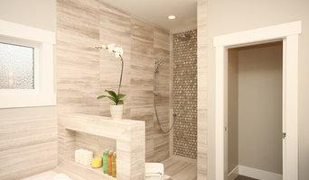 Inner City Contemporary Master Bathroom