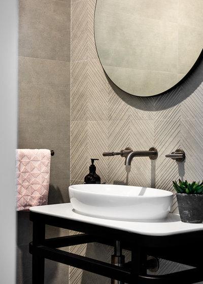 Contemporary Bathroom by schemes & spaces