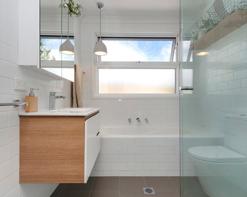 Fantastic Houzz  Contemporary Canberra  Queanbeyan Bathroom Design Ideas