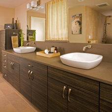 Asian Bathroom by Creative Kitchen & Bath
