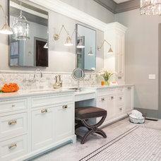 Transitional Bathroom by Innovation House GA